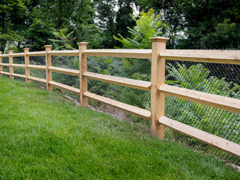 Post And Rail Fencing Ct Fence Company Wire