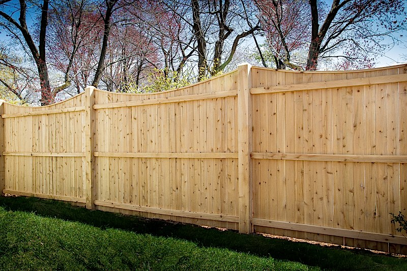 Wood Fence Styles Ct Wood Fence Installation Cedar